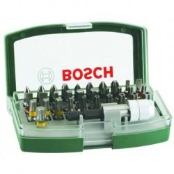 ESTUCHE 32 PUNTAS+P. MAGNETICO - BOSCH - 2607017063