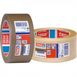 CINTA EMBALAJE PACK PVC TRANSP RUGOS-TESA-66MX50 MM