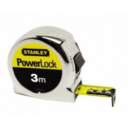 FLEXOMETRO POWERLOCK - STANLEY - 3MTX19 MM