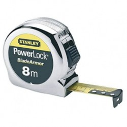 FLEXOMETRO POWERLOCK - STANLEY - 8MTX25 MM