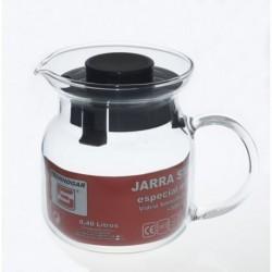 JARRA CRISTAL MICROONDAS VITRO - TECNHOGAR - 0,40 L