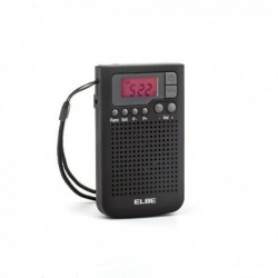 RADIO AM/FM BOLSILLO DIGITAL - ELBE - RF-93
