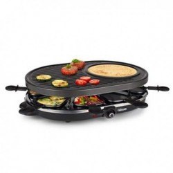 RACLETTE GRILL 8 PERSONAS - TRISTAR - 43X30CM