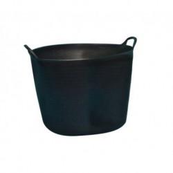 CAPAZO PLASTICO NEGRO--42 L