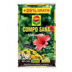 TIERRA MACETA SANA - COMPO - 40+10 L