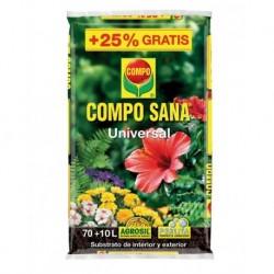 TIERRA MACETA SANA - COMPO - 80 L