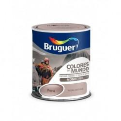PINTURA BRUGUER COLORES DEL MUNDO PERU PIEDRA INTERMEDIO - 750 ML