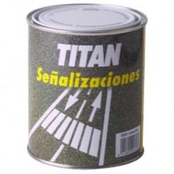 PINTURA SUELOS TRAFICO BLANCO - TITAN - 4 L