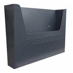 BUZON PUBLICIDAD GRIS - SEGURVI - 355X255X85