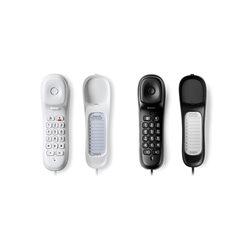 TELEFONO MONOPIEZA NEGRO - MOTOROLA -