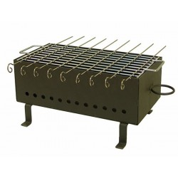 BARBACOA PINCHITOS PARRILLA - IMEX - 38X20X19