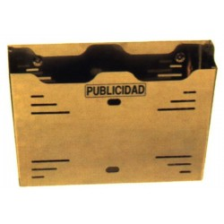 BUZON PUBLICIDAD NEGRO - BTV 12 - 36 CM
