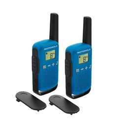WALKIE TALKIES T42 BLUE PACK - MOTOROLA -