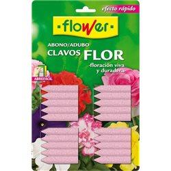 ABONO CLAVO FLOR BL/20 U - FLOWER - 10506