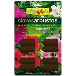 ABONO ARBUSTOS 8 CLAVOS - FLOWER - 10 G