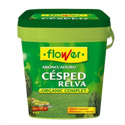 ABONO CESPED ORGANIC COMPLET - FLOWER - 4 KG