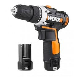 Taladro atornillador batería WORX 2 Baterías WX128.3