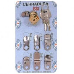 CERRADURA BUZON CROM BLIS N 1 - BTV - 60001