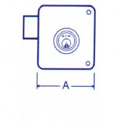 CERRADURA SOBREP PINT DCHA - MCM - 100 D