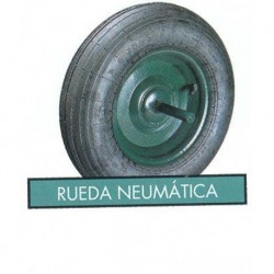 RUEDA CARRETILLO NEUMATICA - FERMAR - 350 MM