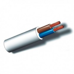 CABLE MANGUERA BLANCA 100MT - SEDILES - 2X1 MM