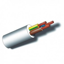 CABLE MANGUERA BLANCA 100MT - SEDILES - 3X2,5 MM