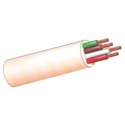 CABLE MANGUERA BLANCA 100MT - SEDILES - 4X1,5 MM