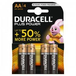 Pila alcalina PowerP BL4 LR06 DURACELL, AAK4P.PLUS
