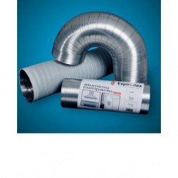TUBO ALUMINIO COMPACT 5MT-ESPIROFLEX-100 MM