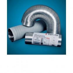 TUBO ALUMINIO COMPACT 5MT - ESPIROFLEX - 150 MM