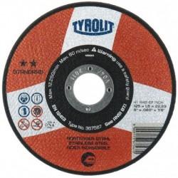 DISCO C EXTRADELGADO - TYROLIT PREMIUM - 125X1 MM