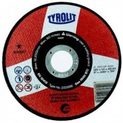 TYROLIT BASIC DISCO C INOX EXTRADELG,115X1 MM