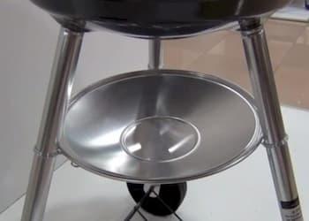 Cenicero de la barbacoa weber kettle 57 cm